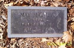 May <I>McCalla</I> Gaines