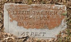 """Susan Elizabeth """"Lizzie"""" <I>Hartwick</I> Palmer"""