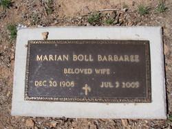 Marian Mead <I>Boll</I> Barbaree