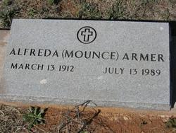 Alfreda Mary <I>Mounce</I> Armer