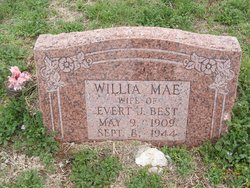 Willia Mae <I>Peevey</I> Best