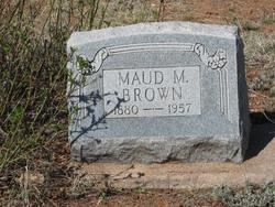 Maud M. <I>Burns</I> Brown