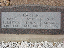 "Emmett Claude ""Pete"" Carter"
