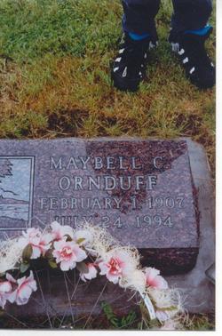 Maybell Charlotte Ornduff
