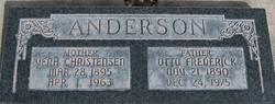 Vera B. <I>Christensen</I> Anderson