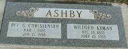 Wilford Lyman Ashby