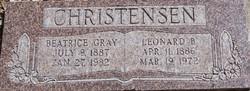 Beatrice <I>Gray</I> Christensen