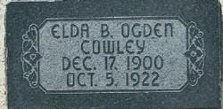 Elda Bell <I>Ogden</I> Cowley