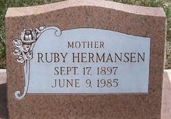 Ruby Cooper Bean Christensen <I>Fordham</I> Hermansen