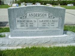 Robert Dean Anderson, Sr