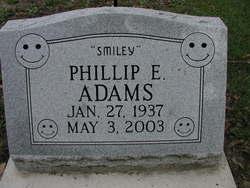 """Phillip E """"Smiley"""" Adams"""