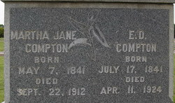 Martha Jane <I>Duck</I> Compton