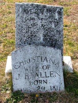 Christina <I>Morris</I> Allen