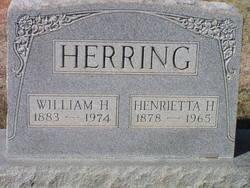 Henrietta <I>Herndon</I> Herring