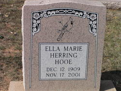 Ella Marie <I>Herring</I> Hooe