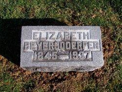 Elizabeth M <I>Wesner</I> Beyersdoerfer