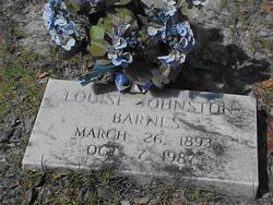 Louise <I>Johnston</I> Barnes