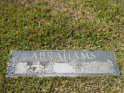John Herman Abrahams