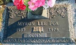 "Myron Lee ""Ronnie"" Fox"