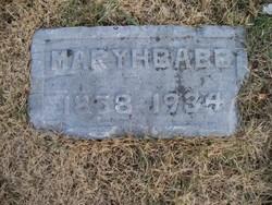 Mary H <I>Roberts</I> Babb