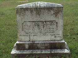 Robert Henry Gregg Gaines