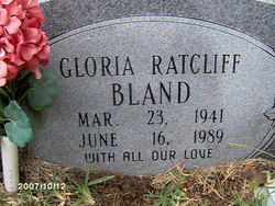 Gloria Ruth <I>Ratcliff</I> Bland