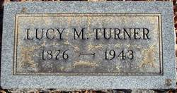 Lucy M Turner