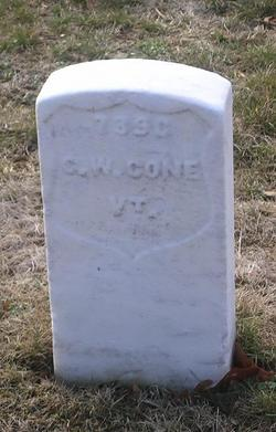 Pvt Charles W. Cone
