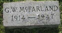 George Washington McFarland