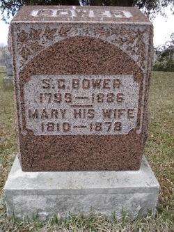 Mary <I>Glock</I> Bower