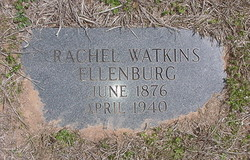 Rachel <I>Watkins</I> Ellenburg
