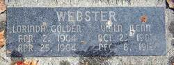 Lorinda Goldia Webster