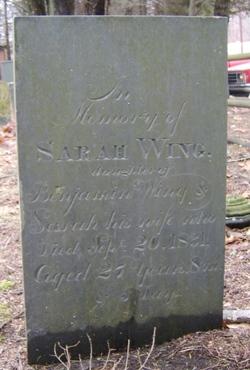 Sarah Wing