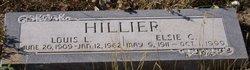 Elsie Clara <I>Boehme</I> Hillier