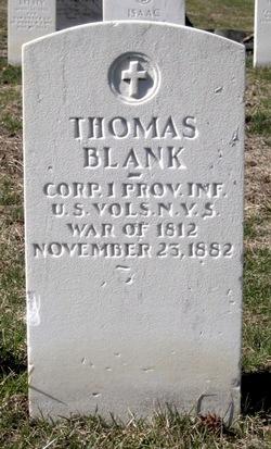 Thomas F Blank
