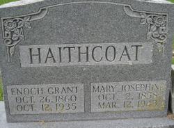 "Enoch Grant ""Tobe"" Haithcoat"