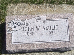 John W. Akulic