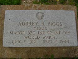 MAJ Aubrey Ray Biggs