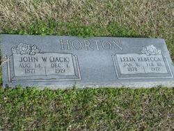 """John W. """"Jack"""" Horton"""