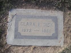 Clara E <I>McAboy</I> Dick