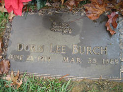 Doris Lee Burch