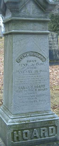 Rev William Bradford Hoard