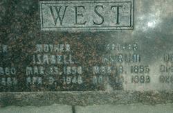 Isabell <I>Pierce</I> West