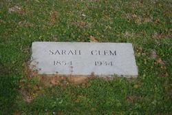 Sarah Catherine <I>West</I> Clem