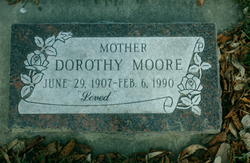 Dorothy Duke <I>Vance</I> Moore
