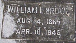 """William Langford """"Will"""" Brown"""
