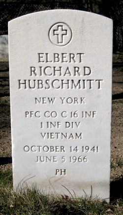 PFC Elbert Richard Hubschmitt, Jr