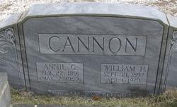 William H Cannon