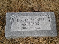 Letha Ruth <I>Barnett</I> Anderson