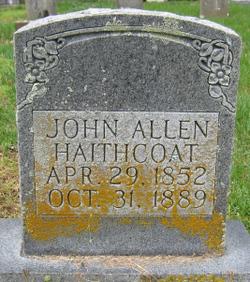 John Allen Haithcoat